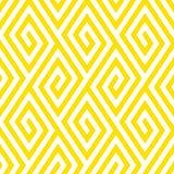Pattern with stripe, chevron, geometric shapes Stock Photos