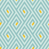 Pattern with stripe, chevron, geometric shapes Royalty Free Stock Images