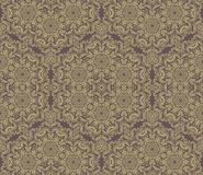 Pattern in the style of Baroque. Abstract Golden Stock Photography
