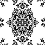 Pattern in the style of Baroque. Abstract Vector Stock Photo
