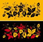 Pattern in style hohloma national creativity Stock Photo
