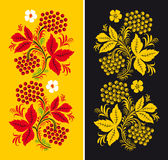 Pattern in style hohloma national creativity Royalty Free Stock Photography
