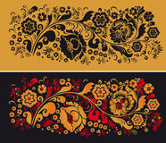 Pattern in style hohloma national creativity Royalty Free Stock Image