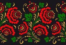 Pattern in style hohloma national creativity. seamless pattern Stock Photo