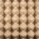 Pattern style paper tray background. Ordered the pattern from construction paper egg tray Royalty Free Stock Photography