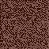 Pattern in style of reptile skin Royalty Free Stock Images