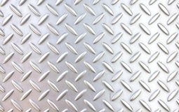 Pattern style of steel floor stock image