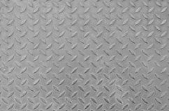Pattern style of steel floor. In grey colour Stock Images