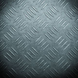 Pattern style of steel floor for background Stock Photography