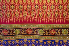Pattern style Thai Silk art. Pattern style Thai Silk culter. detail art textured background of Traditional weave textile for fashion dressing and decoration royalty free stock image