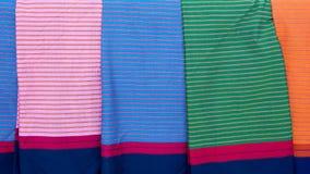 Pattern style Thai Silk Royalty Free Stock Image