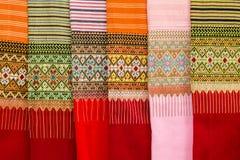 Pattern style Thai Silk Royalty Free Stock Photo