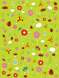 Pattern_summer Obraz Stock