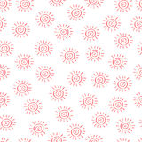 Pattern of sun stock photos