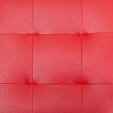 Pattern and surface of red luxury sofa leather Stock Photos