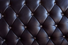 Pattern and surface of sofa leather with crystal b Royalty Free Stock Photos