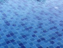 Pattern in swimming pool background royalty free stock image