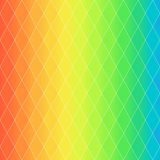 Pattern of Symmetric Rhombuses Summer Sea Colors, Continuous to Royalty Free Stock Image