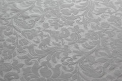 Pattern on the tablecloth Stock Photography