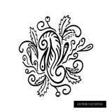 Pattern for a tattoo Royalty Free Stock Photos
