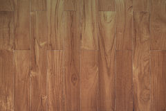 Pattern of teak wood board texture with vertical strip Royalty Free Stock Image