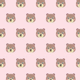 Pattern with Teddy bears. Stock Images