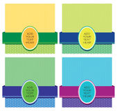 Pattern Template Design Royalty Free Stock Photo