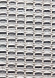 Pattern of terrace ob hight building Stock Photos