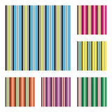 Pattern with terrace stripes Royalty Free Stock Photos