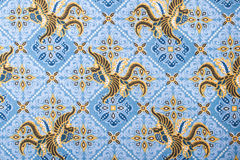 Pattern on textile Stock Photos