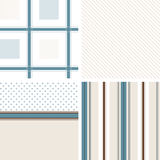 Pattern textile beige Stock Images