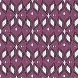 Pattern textile waves Stock Images