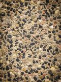 Pattern texture brown stones pebbles stock photography