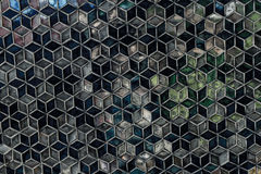 Pattern or texture in cube shape. Stock Photo