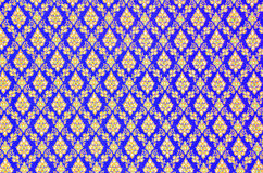 Pattern texture of general traditional thai style native handmad Royalty Free Stock Images