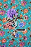 Pattern texture handmade fabric Stock Image