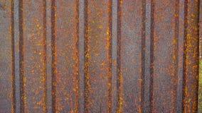 Zinc sheets. Pattern and texture of metal sheet. Rusty metal sheet texture stock image