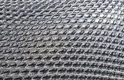 Pattern and texture of motorcycle seat Stock Images