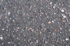 Pattern texture of old asphalt with stones Royalty Free Stock Photos