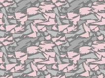 Pattern texture repeating seamless. Pink and gray spots on the background. Vector background. Repeat. Stock Images