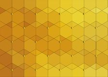 Gold scaly abstract background stock illustration