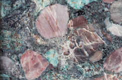 Pattern and texture of a stone Stock Image