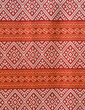 Pattern texture Thailand  of native cloth Stock Image