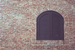 Pattern texture of wall and window background with space for design Royalty Free Stock Photography