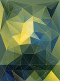 Pattern textured by triangles Stock Image