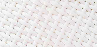 Pattern and textured of white weave for background. Surface and Seamless concept stock images