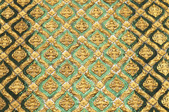 Pattern of Thai art Stock Photos