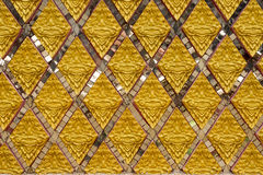 Pattern thai art,relief Stock Photography