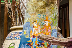 Pattern thai carve Royalty Free Stock Image