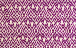 Pattern on thai cloth Royalty Free Stock Photo